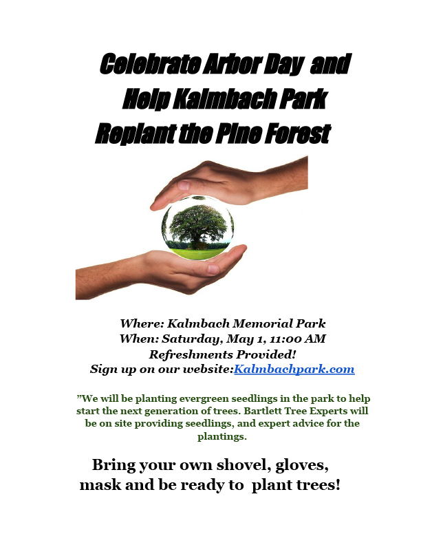 Kalmbach Arbor Day